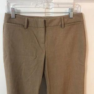Tan New York & Company Size 4 Dress Pants